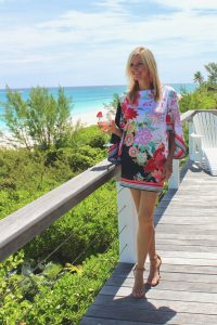 Trina Turk Royal Botanical Dress-2 Ways