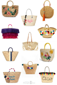 11 Bright Straw Bags For Summer