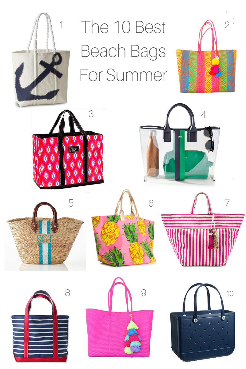 The 10 Best Beach Bags For Summer